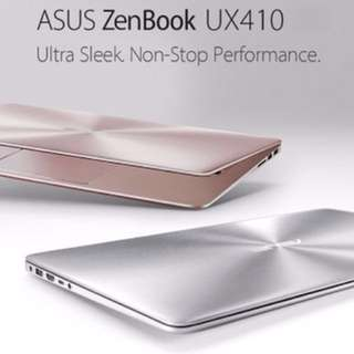7 months ASUS UX410U laptop in Rose Gold for sale!