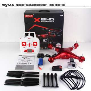 BRAND NEW SYMA X8HG HDCAM DRONE WORTH OVER SGD150+