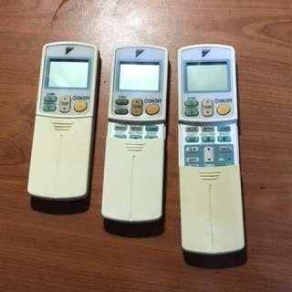 Remote control for Daikin ac