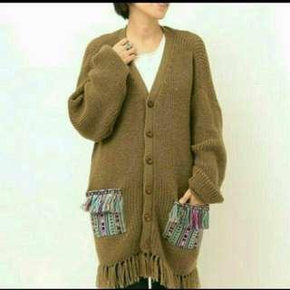 全新Titicaca保暖流蘇冷衫