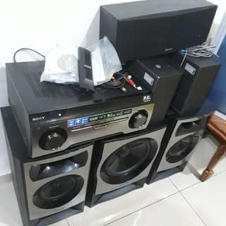 SONY HTM-22 HOME THEATRE