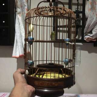 Mata putih rosewood cage swap with other putih cage . Please read