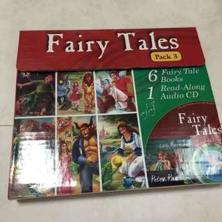 Fairy tales set with CD