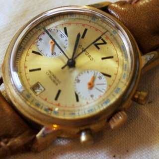 Valjoux 7734 vintage watch 70s