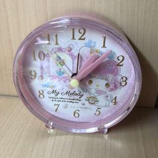 My Melody alarm clock 鬧鐘 時鐘