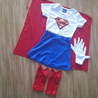 SUPER GIRL COSTUME