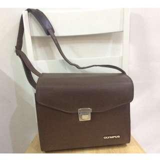 Vintage Olympus Camera Bag