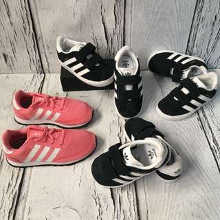 Adidas shoes for kiddos