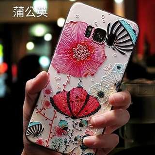IPhone & Samsung 手機殼個性創意韓國硅膠全包防摔男女款