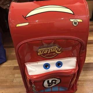 Lightning McQueen Cars Luggage Bag