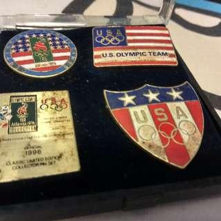 1996年美國奥運會襟章