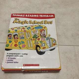 The magic school bus phonics reading program