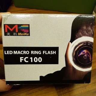 Meike LED Macro Ring Flash