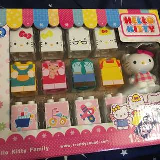 Hello Kitty Family Block Set