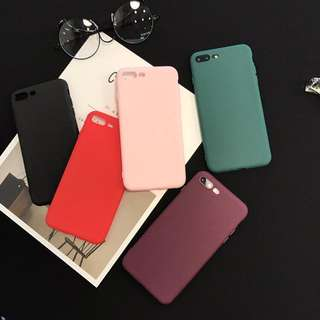 PURE COLOR frosted case
