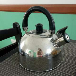 Whistling stainless Steel kettle (induction cooker-compatible)