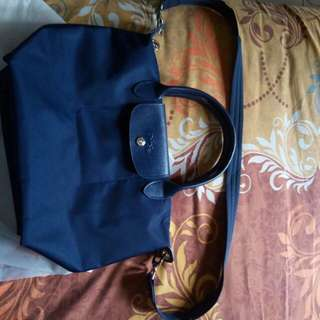 Longchamp auth navy made in france