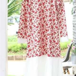 Long dress afria