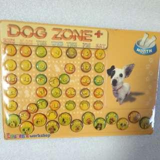 狗年 立體硬紙DIY坐枱月曆