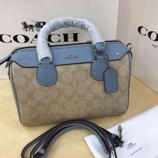 Authentic Coach women Handbag crossbody bag sling bag