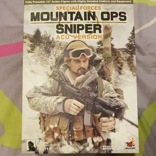 🔥🔥🔥1/6 Hot Toys Special Forces Mountain Ops Sniper (ACU Version)