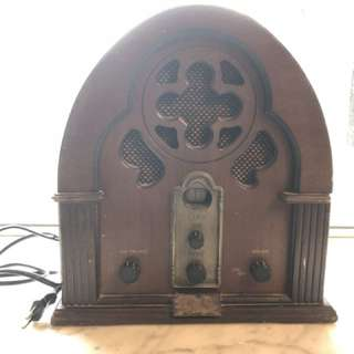古典卡式收音機