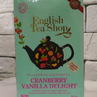 English Tea Shop Cranberry Vanilla Delight