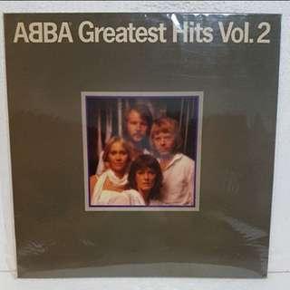 Abba vinyl record