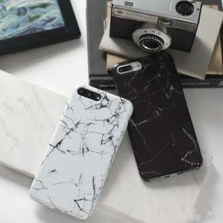 For IPHONE 5, 5S,6, 6S, 6+, 6S+, 7, 7+ 8 8+ - MARBLE PREMIUM