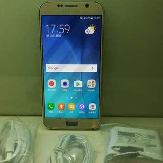 SamsungS6 64G。單卡直屏,冇崩損,新舊如圖示。7日壞機包換。