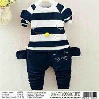 xx set 2in1 mousy navy kid