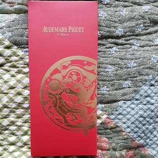 Audemars Piguet 愛彼名牌利是封一包8個红色
