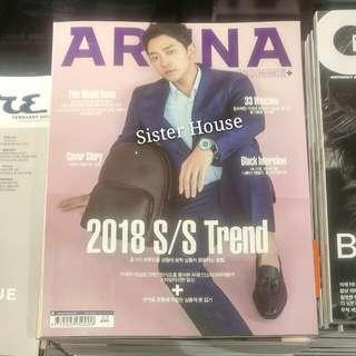 🇰🇷ARENA HOMME Magazine 韓國雜誌二月號 - Rain 封面