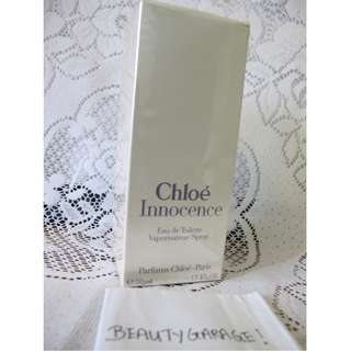 RARE CHLOE INNOCENCE 50ml 1.7 oz EDT SEALED Women perfume vintage KARL LAGERFELD