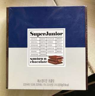 Super Junior 朱古力