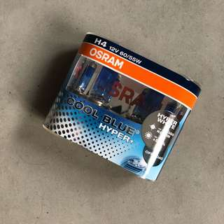 OSRAM Hyper Blue Plus H4 Halogen Light Bulb