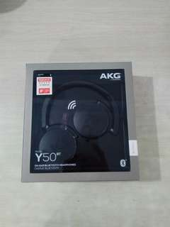 AKG Y50 BT wireless headphones
