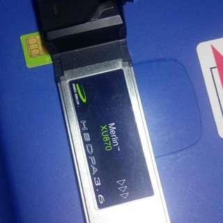 merlin XU870手提電腦加電話卡轉接卡