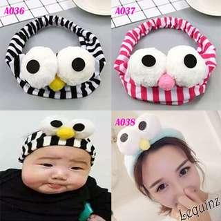 Cute Elmo Pop Up EYes Comfy Headband