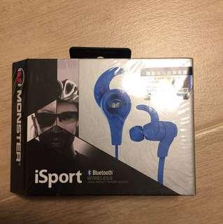 全新Monster iSport 運動專用藍牙耳筒