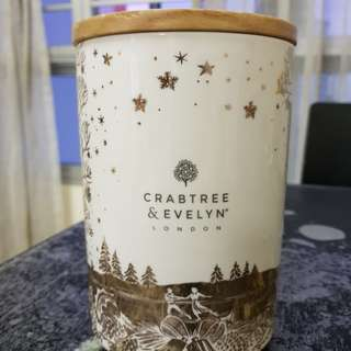 Crabtree & Evelyn Cookie Jar