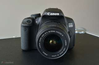 Canon 650d 18-55mm shutter count about 10k