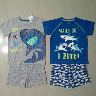 Brand NEW Boys Mix & Match Shorties ( Pack Of 2 Sets )