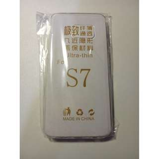 BN Samsung S7 Soft Clear Cover Ultra Thin