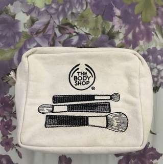 Body Shop makeup bag