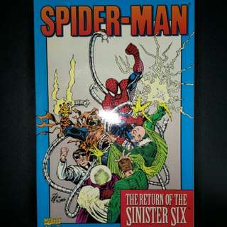 Spiderman:Return of The Sinister Six (Graphic Novel)