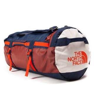 The North Face Base Camp Duffel Bag Medium-Brick House Red/Acrylic Orange