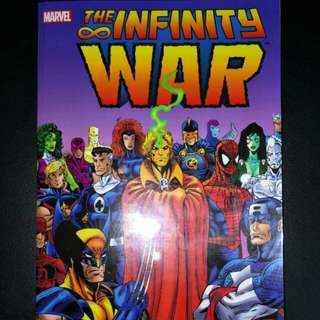 Infinity War Graphic Novel