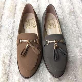 韓版絨布流行女鞋8985