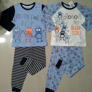 Brand NEW Boys Mix & Match Pajamas ( Pack Of 2 Sets )